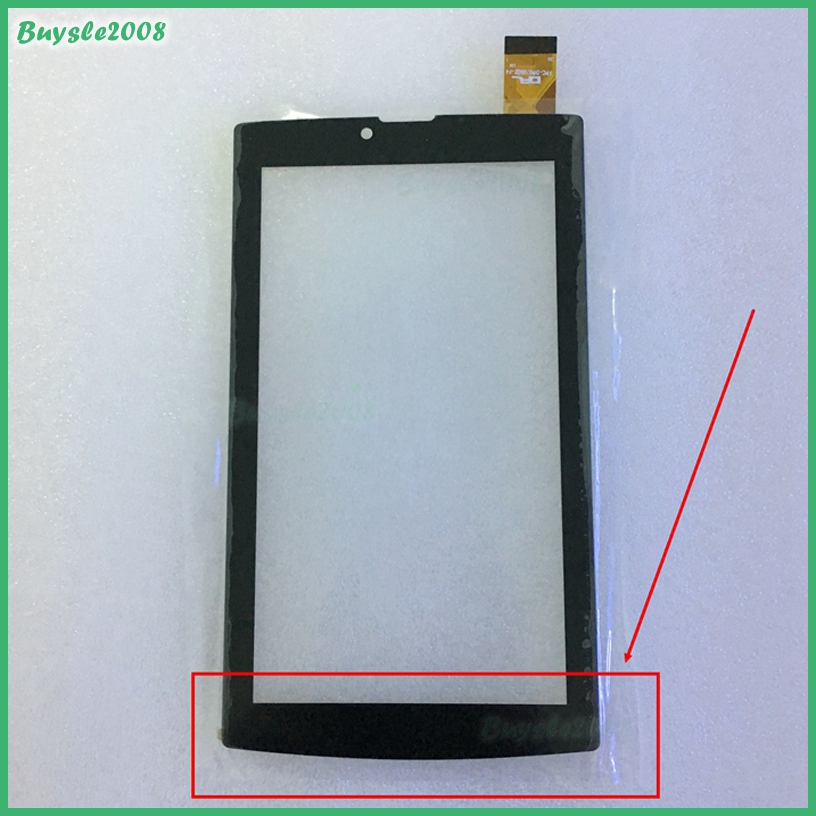 2pcs/lot For fpc-dp070002-f4 Tablet Capacitive Touch Screen 7 inch PC Touch Panel Digitizer Glass MID Sensor Free Shipping 7 inch fpc tp070341 fpc tpo034 glass for talk 7x u51gt touch screen capacitance panel handwritten noting size and color
