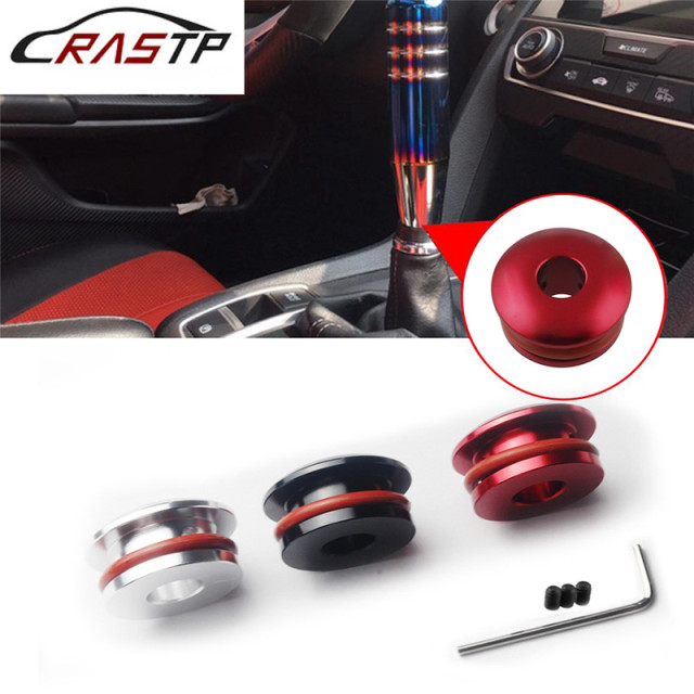 RASTP-Car Engine Limiter Aluminum Shift Head Limiter Fixed Base Gear Head Buckle Tool Car Modification RS-SFN056