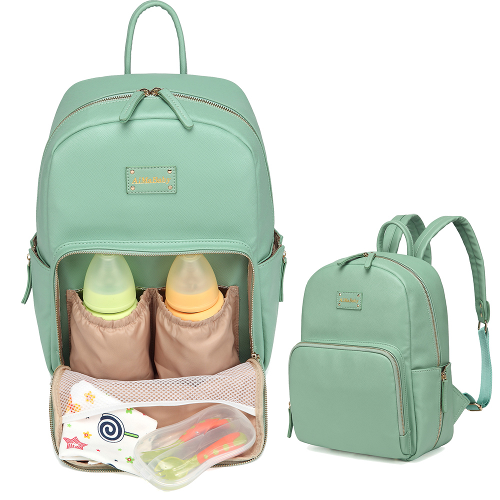 b448d7085a Fashion Large capacity Baby Diaper Bag Set For Mom Mother Maternity a Bag  for stroller Nappy Bags Backpack with Changing Mat