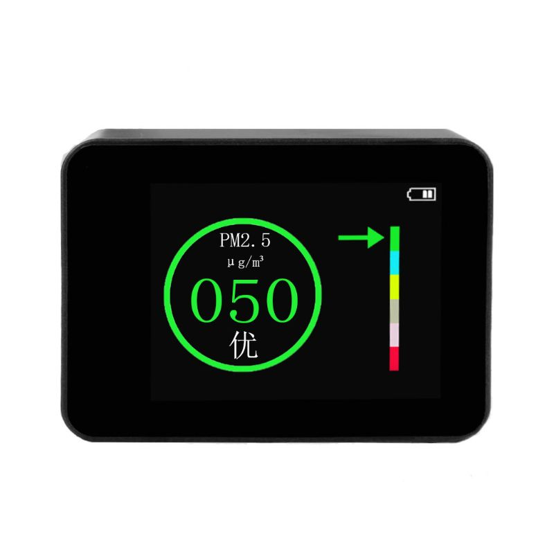 100% QualitäT Air Qualität Tester Tragbare Laser Pm2.5 Detektor Smart Monitor Für Home Office Auto