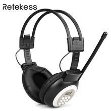 цена на For TR101 FM HeadpTR101 FM Headphone Radio Receiver Headset for Large Meeting Conference Simultaneous Interpretation System