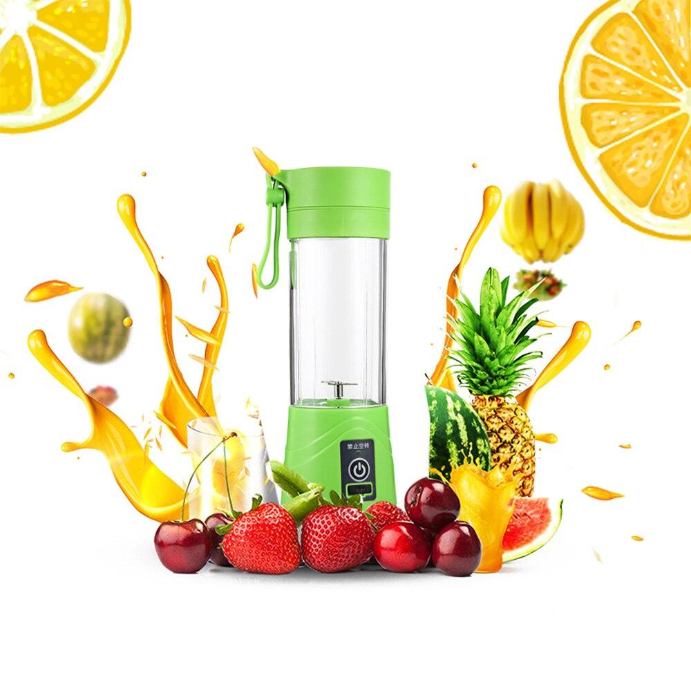 Elektrische Obst Gemüse Citrus Entsafter Handheld Maker Mixer Tragbare USB Aufladbare Saft Squezers Wasser Flasche Drink