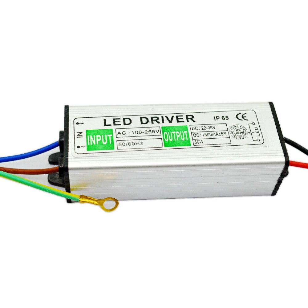 50w Led Driver Power Supply: AC100 265V To DC30V 50W LED Driver AC/DC Adapter Lighting