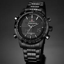 2017 Nuevo Estilo de Reloj Digital S Choque Hombres Militar Del Ejército Reloj de pulsera resistente al agua Fecha Calendario LED Relojes Deportivos relogio masculino