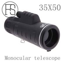 Support wholesale new panda HD vision range 35×50 dual focus zoom monocular telescope outdoor hunting military single cylinder