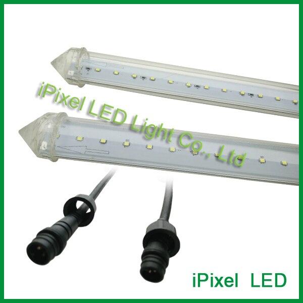 transparent led tube smd2835 led meteor shower rain tube lights