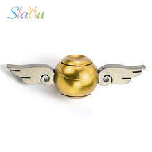 Newest Harry Potter Fidget Spinner Golden Snitch Cupid Hand Spinner Metal Finger Spinner Anti Relieve Stress Hand Toys