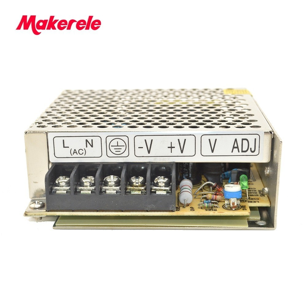 48v 0.7A 35W Single Output Adjustable Switching power supply NES-35-48 low ripple noise for LED Strip light AC-DC Converter 240w 48v 5a single output adjustable switching power supply unit for led strip light universal ac dc converter