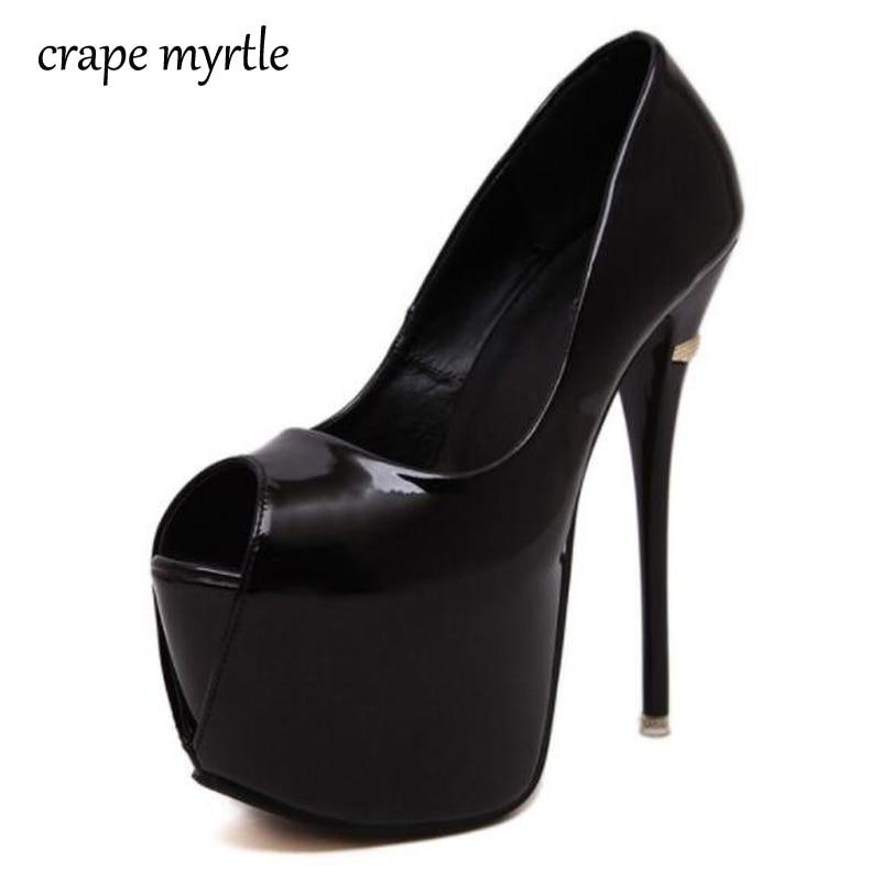 De Pompes Noir Peep Yma80 blanc 40 Automne D'été Talons Extreme Rouge Mariage Toe Femmes Blanc Pour Noir Chaussures 34 rouge nXqnPTa