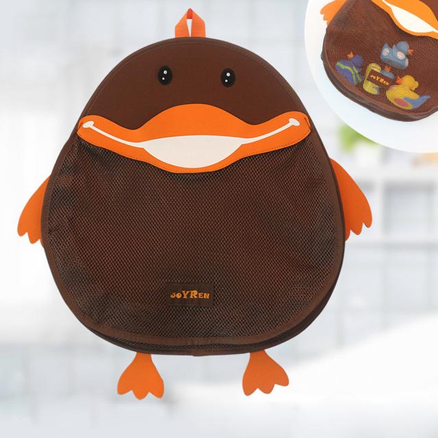 Pato lindo Impermeable Bebés y Niños baño juguetes de Baño Organizador para niños Juguetes Bolsa de Almacenamiento organizadores
