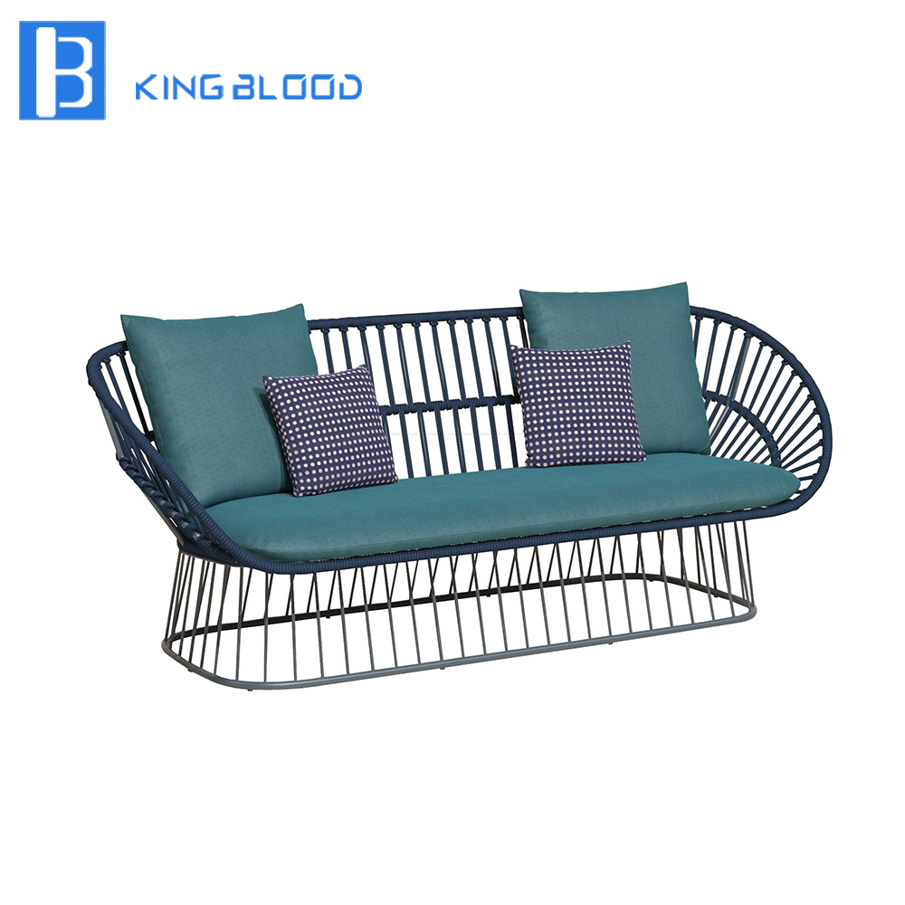 US $700.0 |new aluminum rattan wicker garden furniture modern outdoor  sofa-in Garden Sofas from Furniture on Aliexpress.com | Alibaba Group