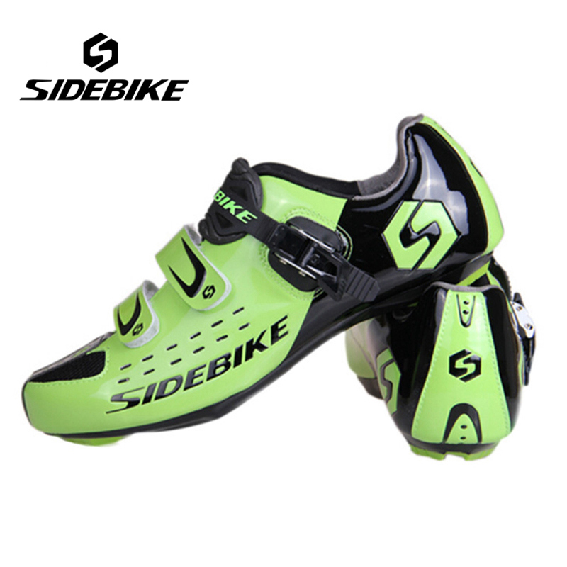 Sidebike New Cycling Shoes  Road bike  Shoes Self-Locking Shoes Sapatilha Ciclismo Cycling Sneakers Skid-proof  Breathable sidebike mens road cycling shoes breathable road bicycle bike shoes black green 4 color self locking zapatillas ciclismo 2016