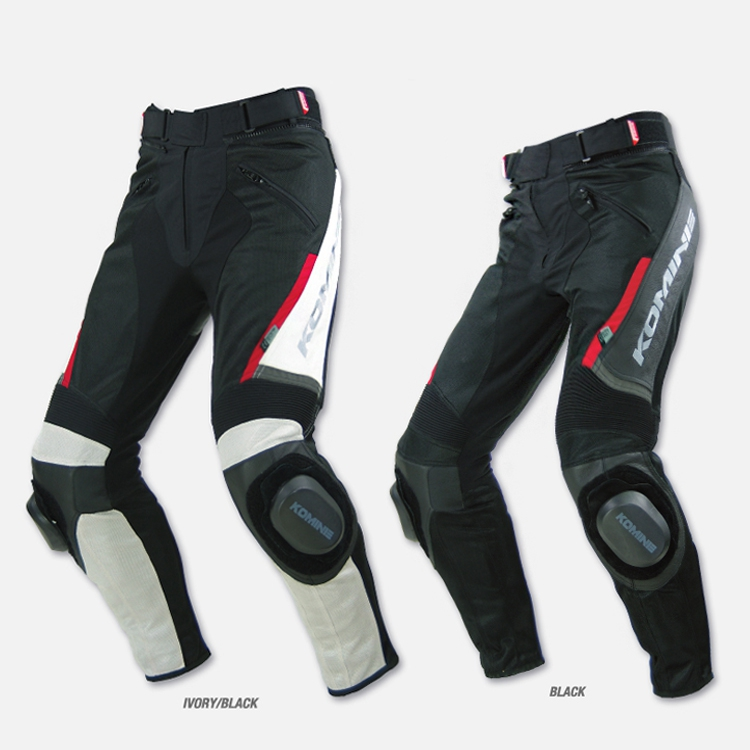 For Komine PK717 PK 717 motorcross Sports Riding Leather Mesh Pants Motorcycle pants