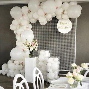 Image 2 - Pastel Macaron Balloon Arch Set Wedding Bridal Shower Party Backdrop Decoation Wall Organic Balloons Garland