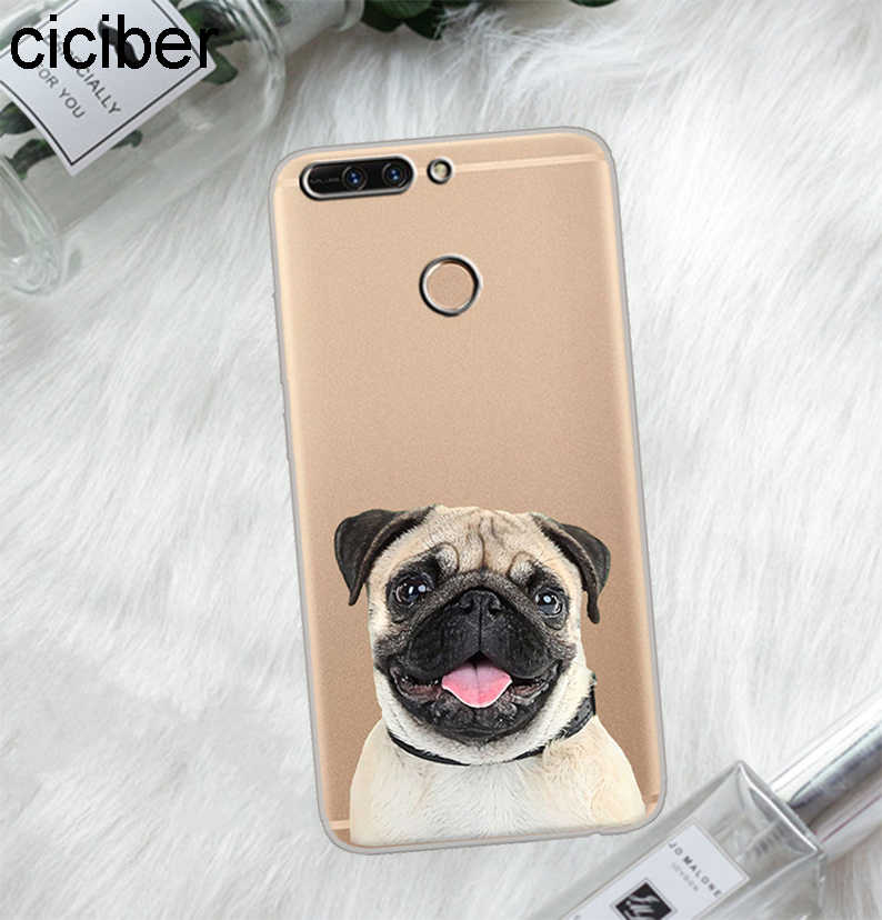 Ciciber For Honor V 10 9 8 Pro Lite X C Play 7A لينة بولي يوريثان لطيف الصلصال الكلب جراب هاتف ل Y 9 7 6 5 3 Prime Pro 2017 2018 2019 Fundas