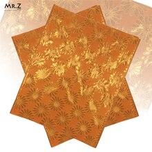 Mr.Z 2Pcs/set African Sego Headtie Handcut Nigerian Gear Gele With Beads