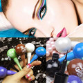 2016 Colorful Lollipop Shape Eyeliner Waterproof Pencil Eyes Cosmetic High Quality Free Shipping I076