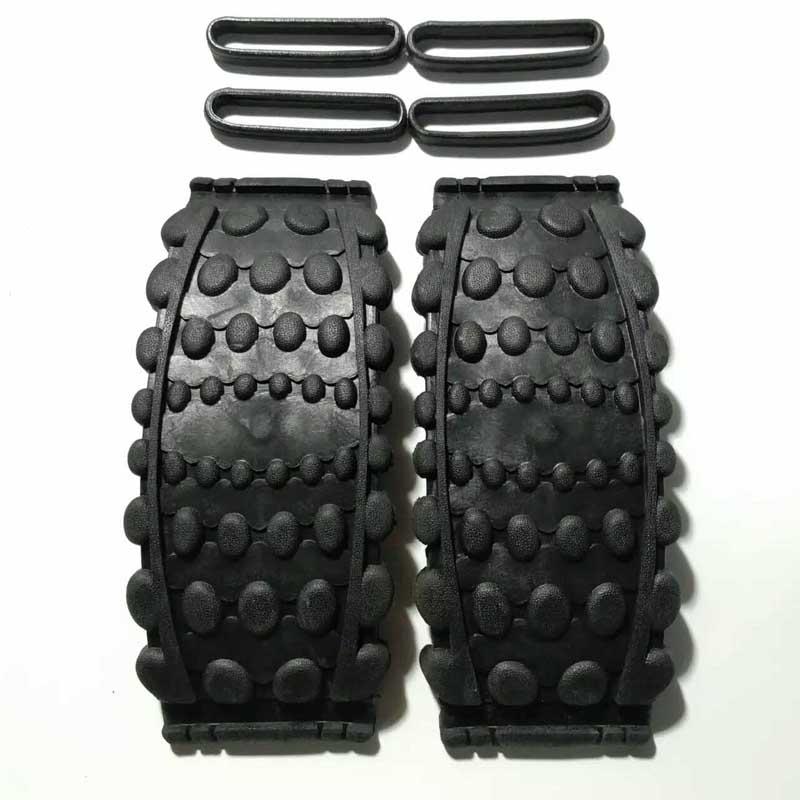 Suela de zapato de salto de canguro Zapatillas de goma que rebotan