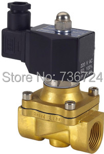 3/8 Solenoid valve air,water,oil,gas normally closed,Square coil IP65 brass solenoid valve 1 2 built side inlet floating ball valve automatic water level control valve for water tank f water tank water tower
