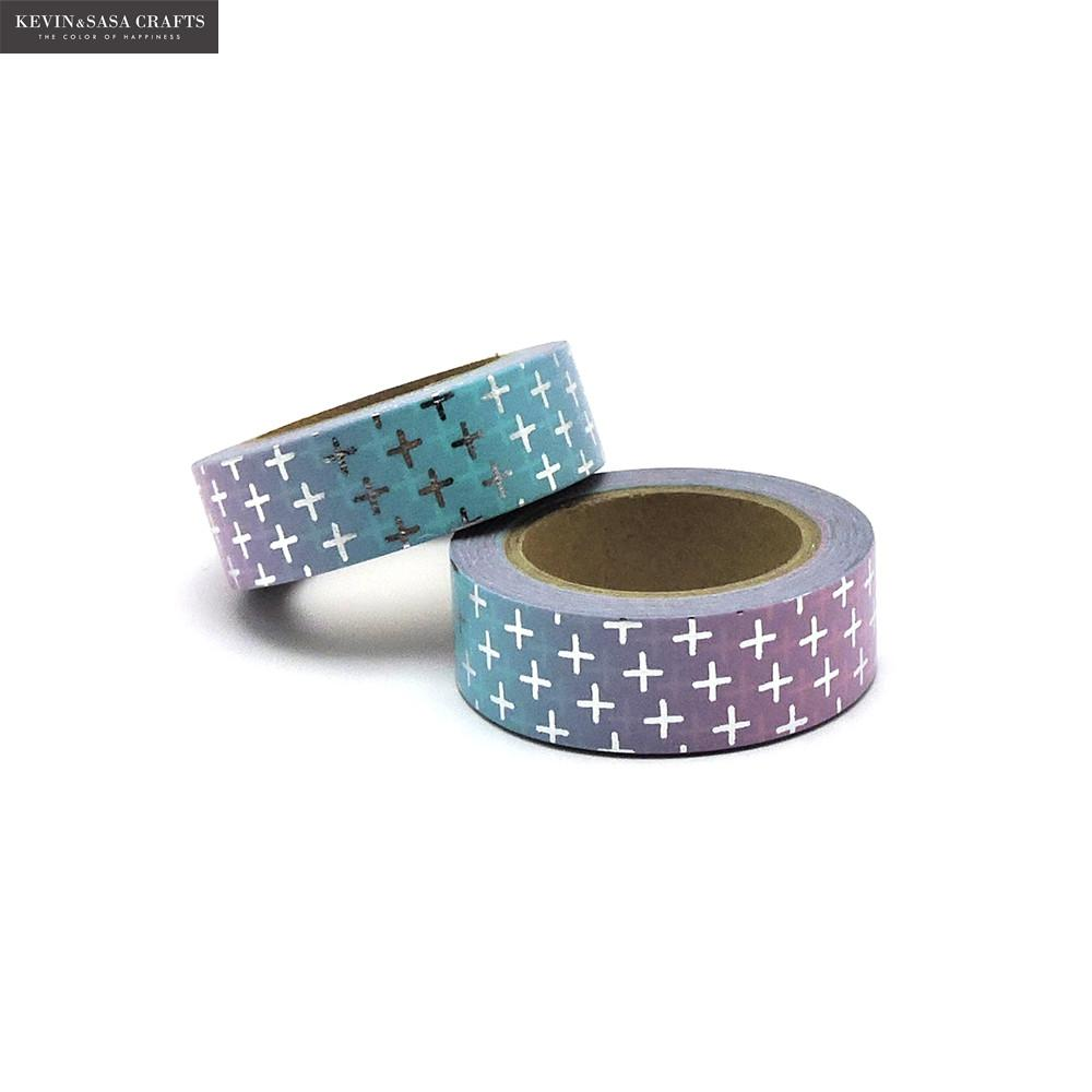 New Foil Washi Tape Quality Stationery Diy Scrapbooking Photo Album School Tools Kawaii Scrapbook Paper Stickers Gift 2016 new scrapbook diy photo album cards transparent acrylic silicone rubber clear stamps sheet enjoy