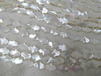 9x14mm full strand Genuine MOP Shell hamsa hand beads shell gorgous beads white shell beads