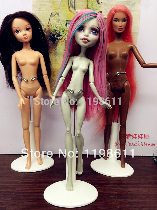 Free transport, 3pcs/lot sizzling promoting Doll Stand Show Holder For barbie doll,helps for Authentic Monster toys excessive doll