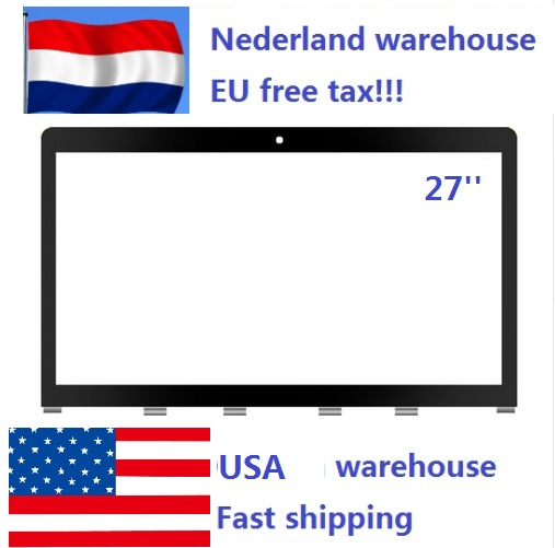 Ship From Netherlands & USA Original New LCD Glass Front Screen Panel For Apple IMac 27