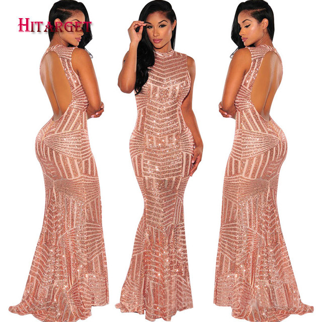 cc60f25e6aff New African Sexy Backless Mermaid Dresses for Women Vestidos Clothing  Dashiki African Wax Print Splice Dresses