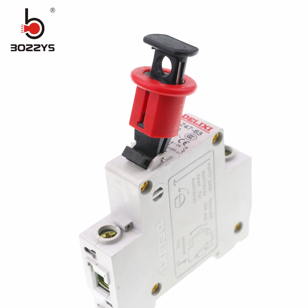 20pcs Lot E Lock Mcb Dogs Lockout Off Devicestoggle Dc Miniature Circuit Breaker1sm6 China Minicircuit Breaker Industrial Electrical Small Safety Pin Out Switch Handle Prevent Misuse Of