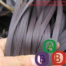 Кофе Фиолетовый четыре линии синтетический пластик ротанг ткацкий материал пластик вязать и ремонт корзины цветочный горшок