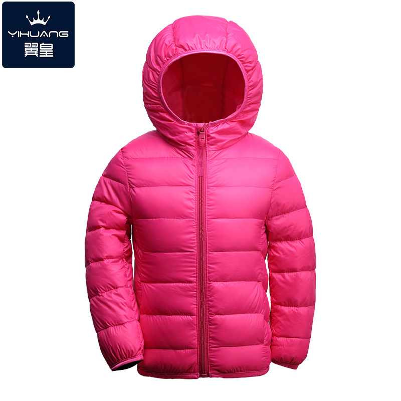 ФОТО High quality 2016 Boy's down Jackets coats winter warm baby Girl's Coats 90% duck Down Kids jackets Children's Outerwears Hooded