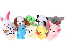Kid's Party Favor Funny Animals Finger Puppets Set