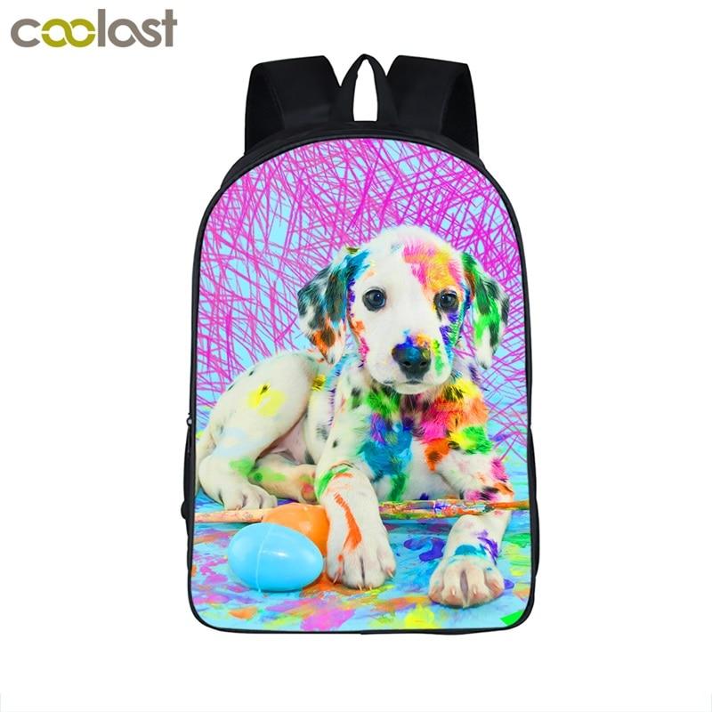 Rottweiler Bag Zoo Backpack For Teenagers Kawaii Rose Toddler School Bags For Girls Boys Pet Dog Baby Backpack Children Book Bag