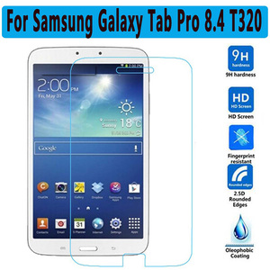 HD Tempered Glass For Samsung Galaxy Tab Pro T320 T321 T325 8.4 inch Screen Protector Tablet Film Clear For SM-T320 Glass 2.5D