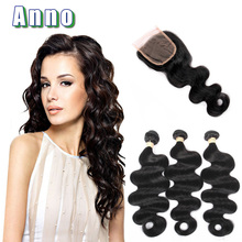 2016 New Arrival Hot Sale 7a Brazilian Virgin Hair Body Wave With Closure Brizilian With Mocha Products With Closures On Sale