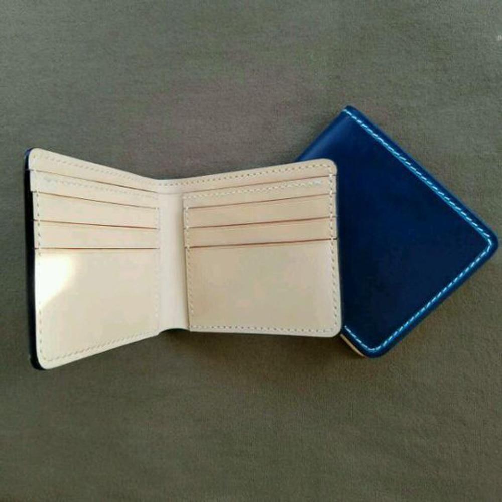 DIY leather wallet card holder die cut kinfe mould hand punch template set