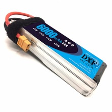 DXF 11.1V 6000mAh 50C 100C 3S RC Lipo Battery For Quadcopter Helicopter TRX Car axial scx-10 ii F450 Xmaxx Quadcopter 500