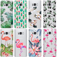 Plant Leaves Case For iPhone 4S SE 5 5S 6 6S 7 8 Plus X for Samsung Galaxy S5 S6 S7 Edge S8 Plus J3 J5 J7 A3 A5 2016 2017 Prime