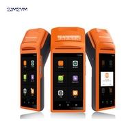 V1 5,5 дюймов Сенсорный экран ручной 3g Andoid Мини Pos машина с Bluetooth, Wi-Fi Термальность мини pos-принтера поддержка 58 мм печать