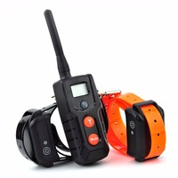 Electric dog collar training waterproof remote static shock dog training collar no bark collar anti barking dog rechargeable