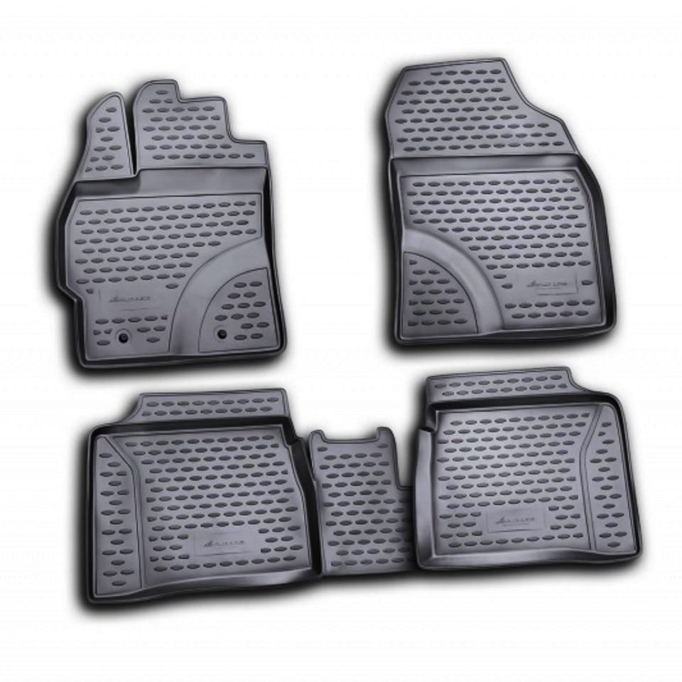 Floor mats for Toyota Prius NHW30 LHD 2009-2015 Element NLC4822210 комплект 3d ковриков в салон автомобиля element toyota prius 20 rh 2003 2009