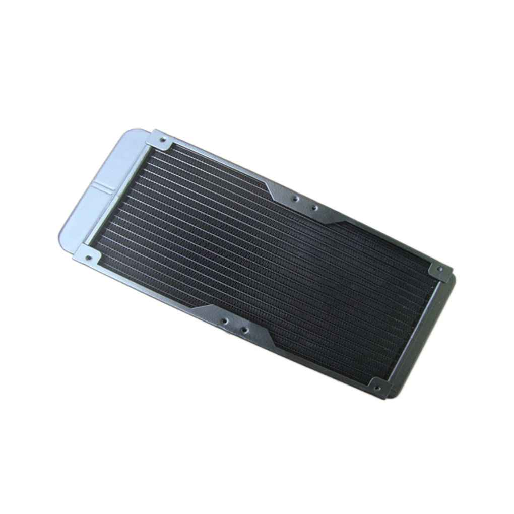Pure Aluminum 240mm Water Cooling Radiator Water Cooler Heat Exchanger with Fan Mesh Cover computer cooler radiator with heatsink heatpipe cooling fan for hd6970 hd6950 grahics card vga cooler