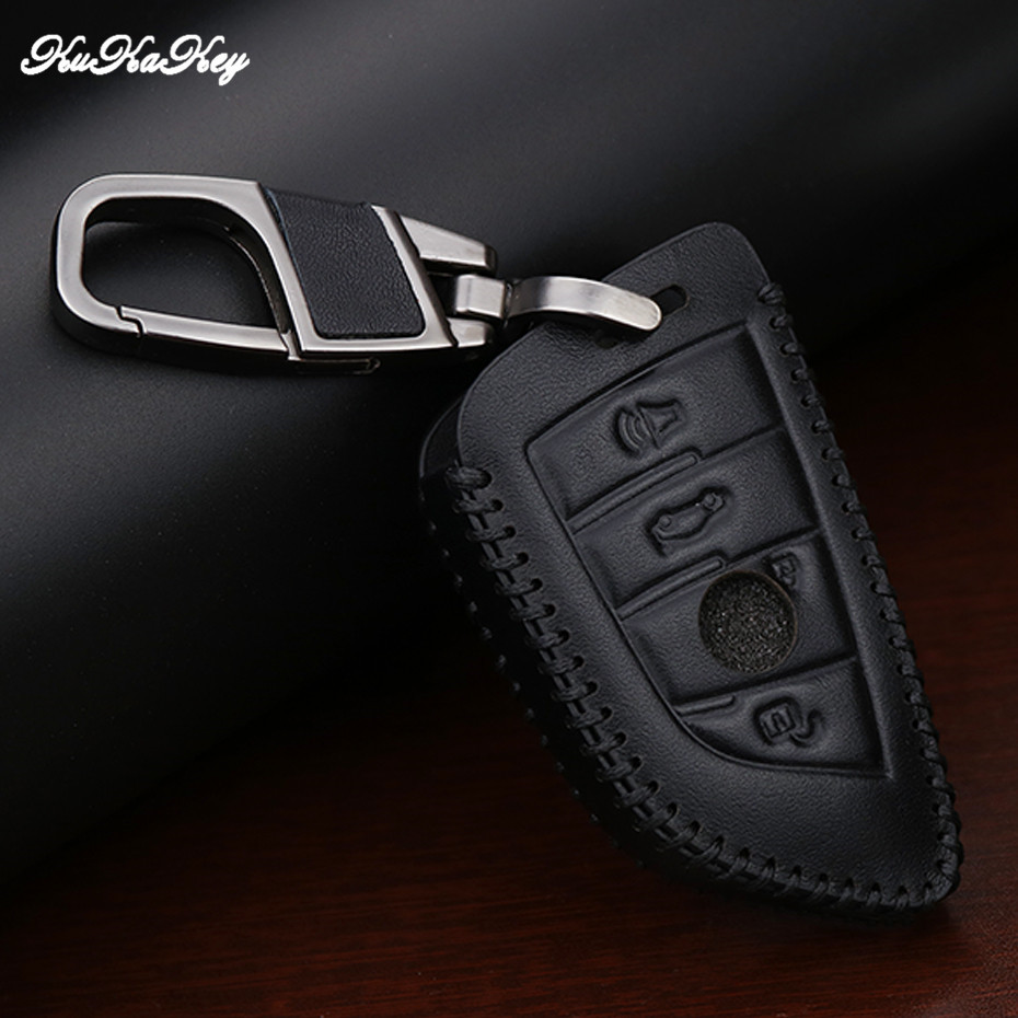 cheapest Leather Car Key Cover Case For BMW X1 X2 X3 X4 X5 X6 X7 1 2 3 4 5 7 Series F15 F16 E53 E70 E39 F10 F30 G30 F48 G11 F39 525li 540