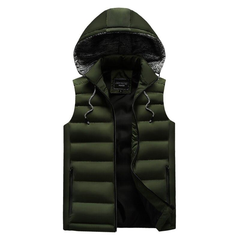 men\`s casual clothing fashion down jackets men leisure dress vests winter warm elegant korean streetwear trend coat vest for men (1)