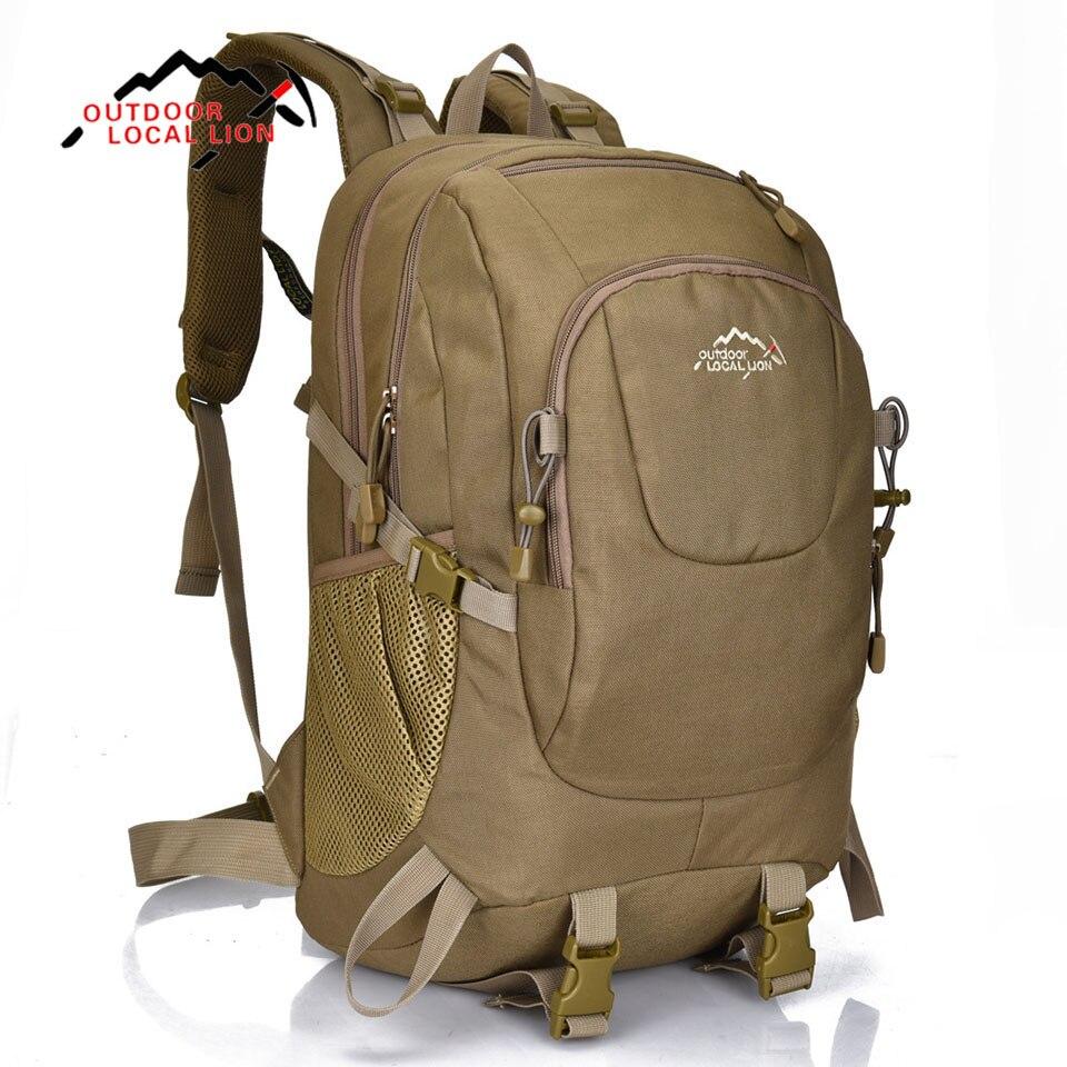 LION LOCAL sac de sport en plein air sac à dos hommes étanche voyage sac à dos femmes pour randonnée Camping voyage sac à dos sac à dos 35L