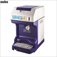 XEOLEO Commercial Ice crusher Automatic Ice Planer Electric Ice Shaver 120kg/h Snow cone machine Slushie maker CE Shave ice 250W