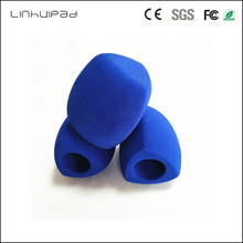 """Anpassen logo dreieck Interview mikrofon Windschutz Handheld windschutzscheibe Innen Durchmesser: 4 CM (über. 1.57 """") 3 farbe"""