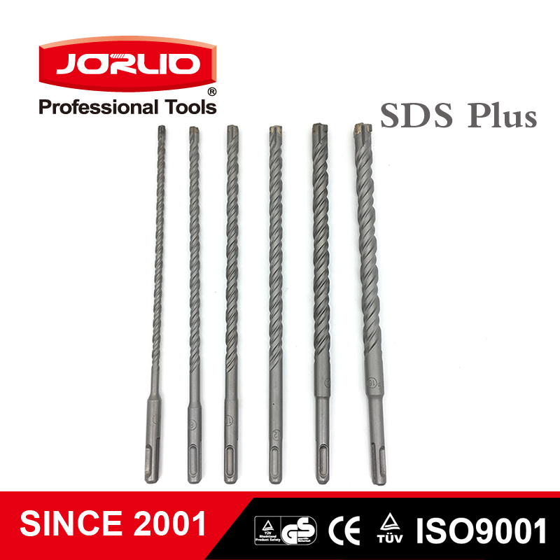 260mm Electric Hammer Drill Bits  6/8/10/12/14/16/18mm  Crosshead Twin Spiral SDS Plus  For Masonry Concrete Rock Stone
