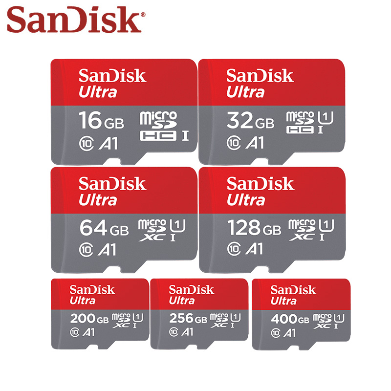 Image 5 - 100% Original Sandisk Micro SD card Class10 TF Card 16gb 32gb 64gb 128gb 400gb 100MB/s Memory Card For Samrtphone And Tablet PC-in Micro SD Cards from Computer & Office