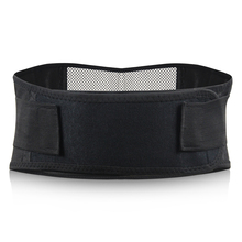 Self Heating Tourmaline Back waist Support Brace Magnets Elastic Band And Leather Enhance Metabolism Ease Pain